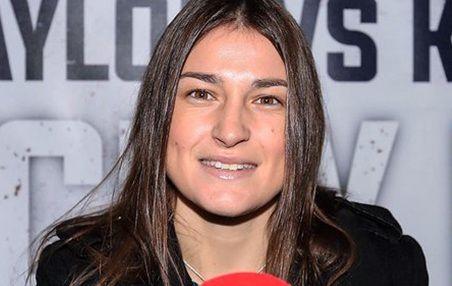 Irish boxing pro Katie Taylor.