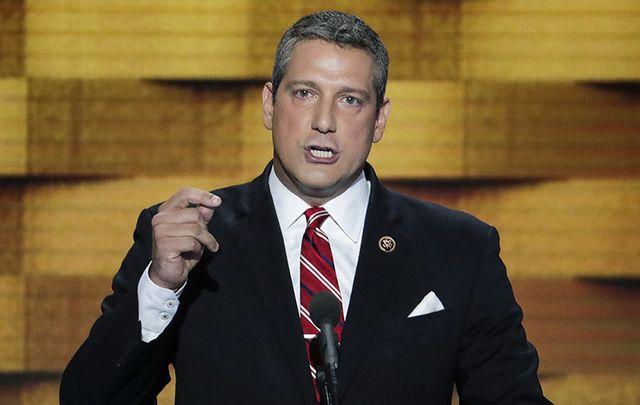 Irish American Congressman Tim Ryan, who represents a district in Ohio.