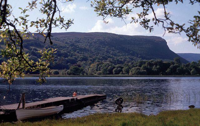 Lough Glenade in Co. Leitrim.