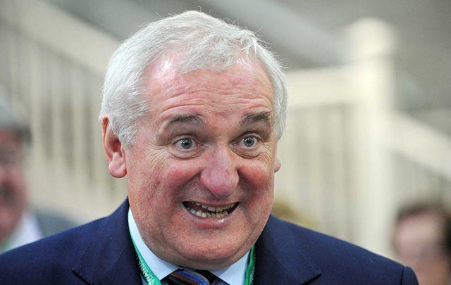 Former Irish Taoiseach Bertie Ahern.