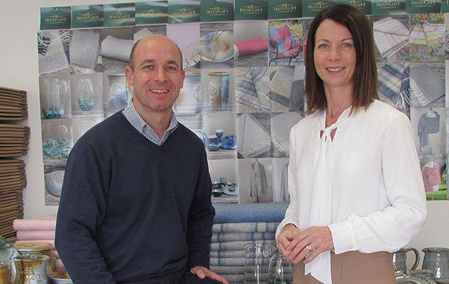 Ken and Karen Byrne of the Irish Gift Market