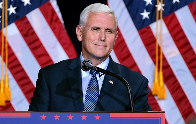 Vice President-elect Mike Pence.