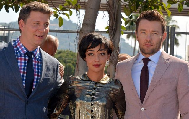 Jeff Nichols, Ruth Negga, and  Joel Edgerton in Cannes 2016. Irish actress Negga is in contention for a Best Actress Oscar this year.