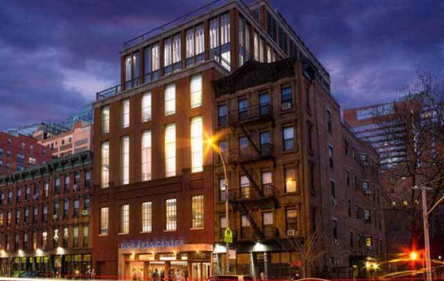What the new Irish Arts Center in Hell's Kitchen, New York, will look like.