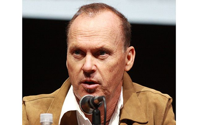Batman actor Michael Keaton.