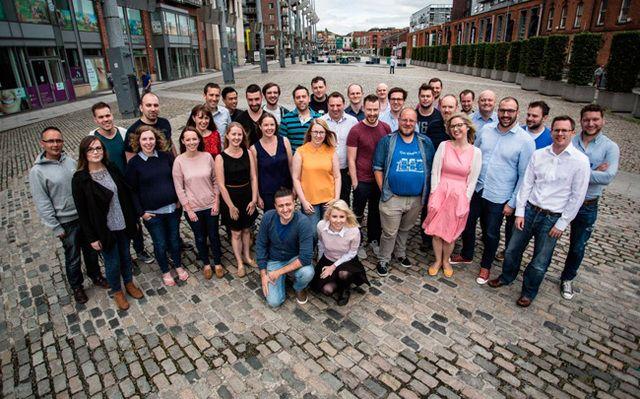 The LearnUpon team in Dublin.