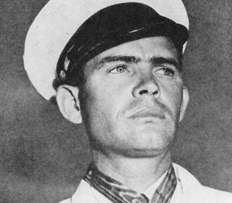 Medal of Honor winner John W. Finn.