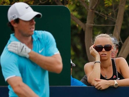 Caroline Wozniacki comes clean on her split from Irish golf champ Rory McIlroy.