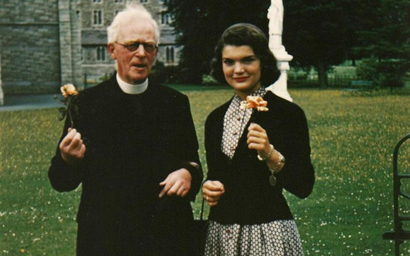 Jackie Kennedy Loved Ireland And Her Old Irish Priest