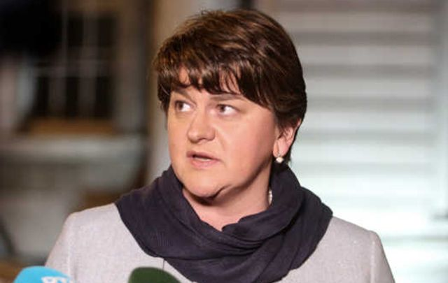 Northern Ireland First Minister Arlene Foster.