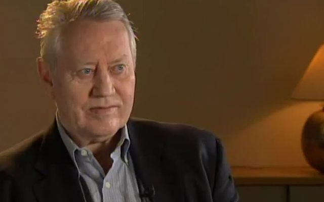 Irish American philanthropist Chuck Feeney.
