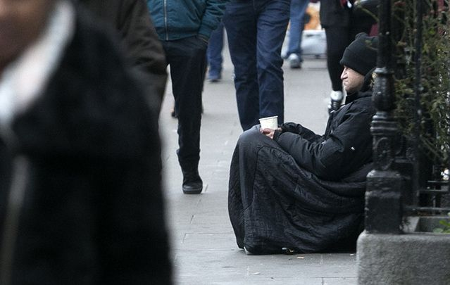 There are 6525 people homeless in Ireland. That's up by 40% on last year.