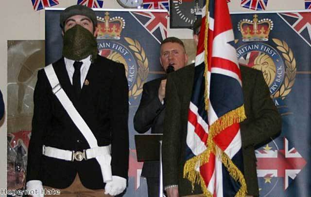 A Britain First meeting.