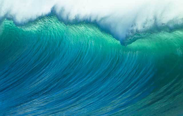 A 62-foot high wave was registered off the coast of Ireland.