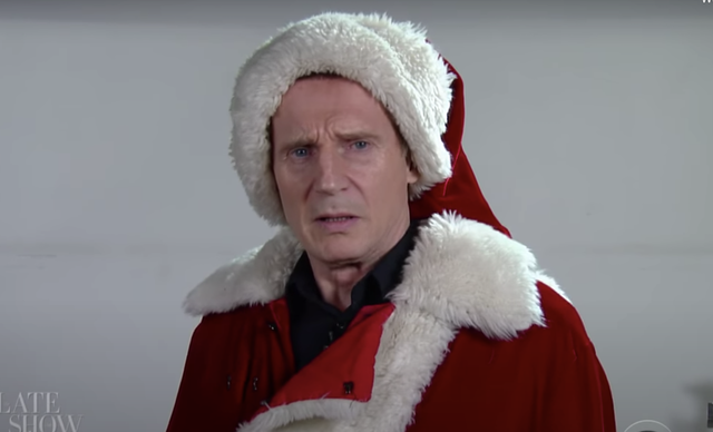 Be scared! Liam Neeson ( aka Santa Claus ) know when you\'ve been bad or good....Japers! Be good for goodness sake.