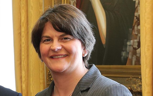 Northern Ireland First Minister Arlene Foster lives to fight another day.