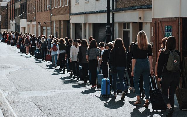Earlier this year as part of the #Repealthe8th Global Gathering, 77 women marched to the Irish Embassy in London to represent the exiled women who travel from Ireland to the UK every week to access safe abortions.