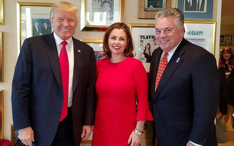 Deep divisions between Irish Dems and GOP after Trump's