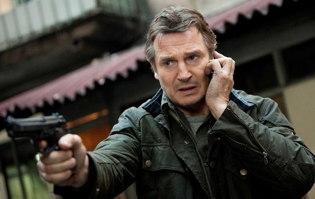 """It's going to be a wild year....""""Liam Neeson quits the priesthood and signs on to star in Taken parts four, five and six. Scorsese will direct."""""""