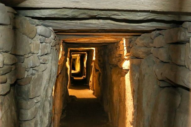 Archaeologist claims that the trapped sunlight phenomenon at Newgrange might be from some tinkering 50 years ago.