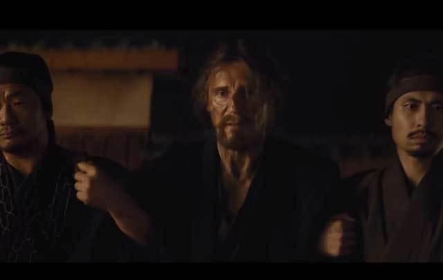 "Liam Neeson stars in Martin Scorsese's new film ""Silence."""