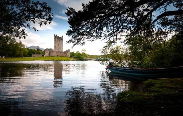 Ross Castle, Killarney, Co. Kerry.