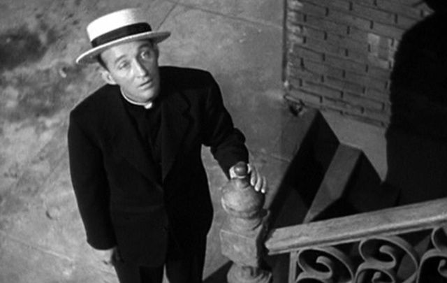 A still from the 1944 movie, Going My Way, starring Bing Crosby.