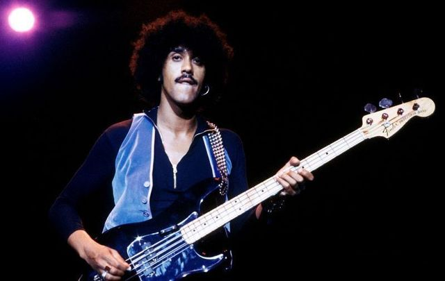 The late great Phil Lynott, frontman of Thin Lizzy.