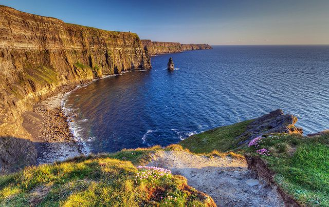 The Cliffs of Moher, the top County Clare tourist attraction sees 14 percent increase with 1,427,166 visitors.