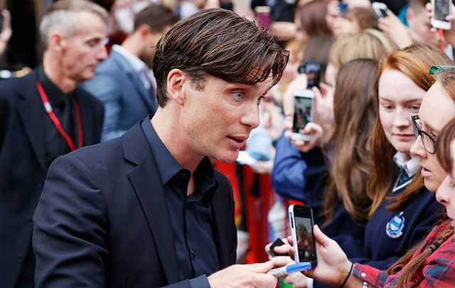 Cillian Murphy at the Irish premiere of Anthropoid.