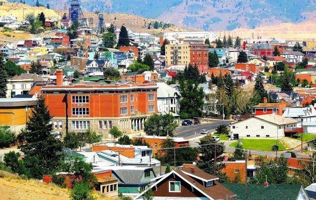 Uptown Butte, Montana.