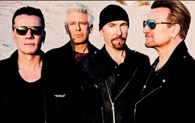 Thirty years on U2 recreate the album cover for The Joshua Tree.