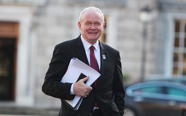 Northern Ireland First Minister Martin McGuinness has resigned.