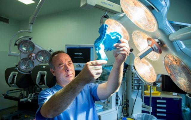Professor of Surgery at UL's Graduate Entry Medical School, J Calvin Coffey.