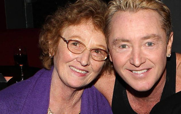 Eilish Flatley and her son, Irish dance star Michael Flatley.