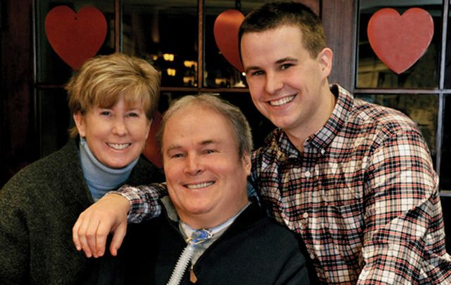 Patti Ann, Steven, and Conor McDonald, the first family to be inducted into the Irish America Hall of Fame.