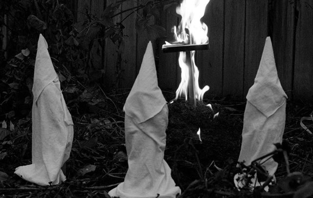 It wasn't just African Americans in the Deep South who had reasons to fear the Ku Klux Klan.