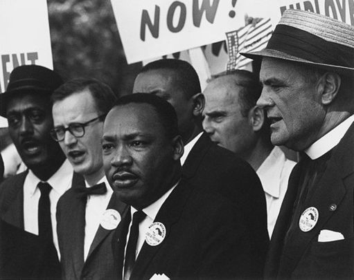 The civil rights activist and icon Martin Luther King Jr.