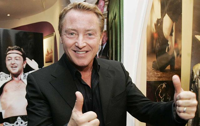 Famed Irish dancer Michael Flatley breaks unofficial boycott of big names refusing to take part in Trump's inauguration ball.