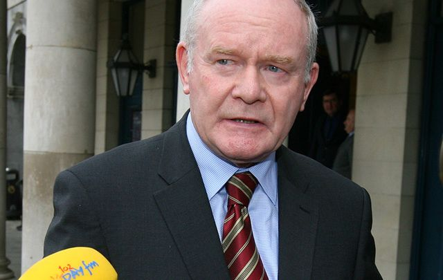 Sinn Féin MLA Martin McGuinness has today announced that he is not seeking reelection to the Stormont Assembly.