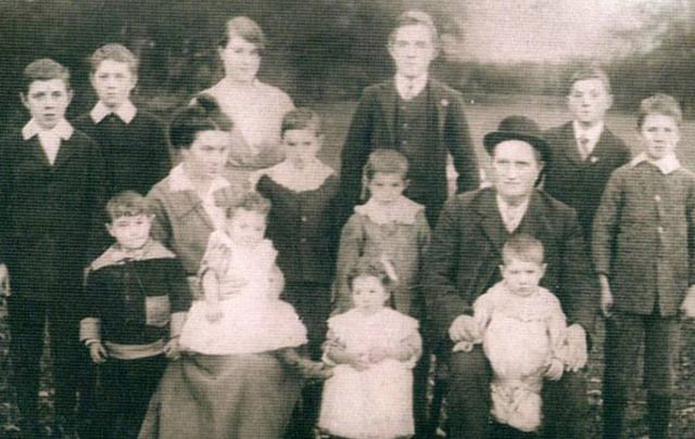 The Clarke Family of Loughrae, County Galway.