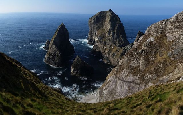 The Cnoc na Mara trio, in County Donegal.