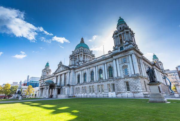 Belfast City Hall in Northern Ireland