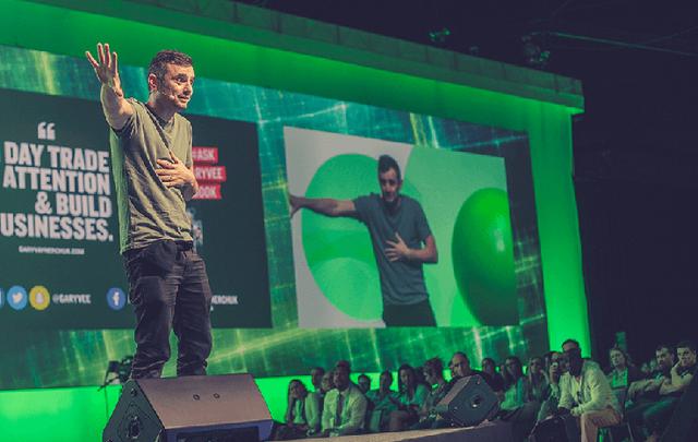 Entrepreneur, Angel Investor and DTS Keynote speaker, Gary Vaynerchuk.