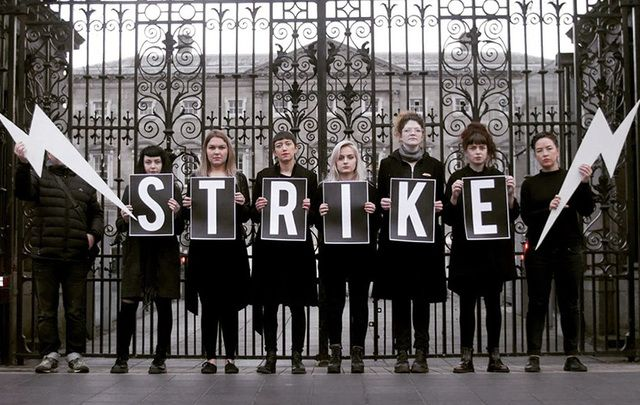 Strike 4 Repeal group wants the Irish government to hold a referendum. Would you strike for something you really believed in?