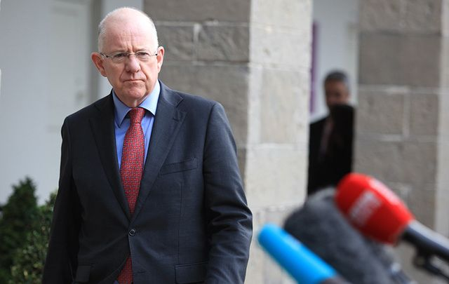 Ireland's Minister for Foreign Affairs Charlie Flanagan.