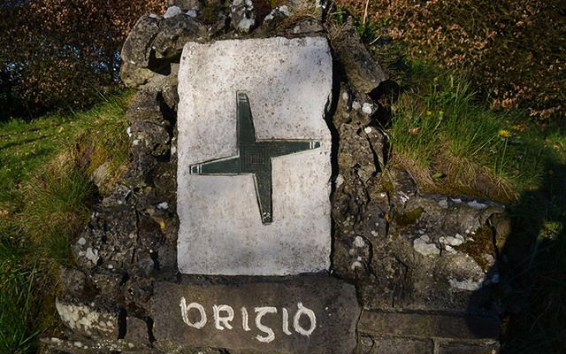 St. Brigid's Well in Cullion. Will you be making a St. Brigid's Cross this February 1?