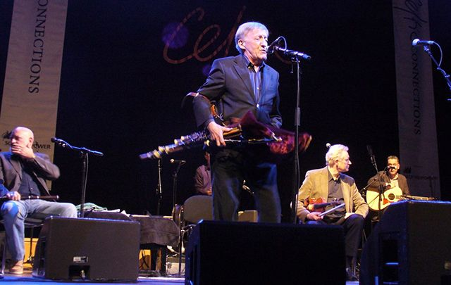 Paddy Moloney and The Chieftains.