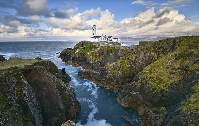 Fanad Lighthouse, in County Donegal.