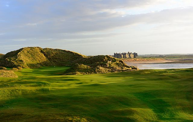 Playing a round at Donald Trump's golf course in Ireland ...